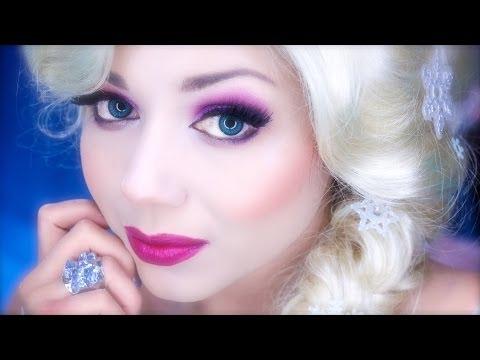 Elsa Inspired Makeup from Disney's FROZEN!   Charisma Star