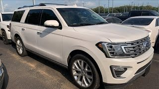 Used 2018 Ford Expedition Max Mt Pleasant TX Sulphur Springs, TX #F7051A - SOLD
