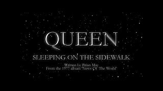 Watch Queen Sleeping On The Sidewalk video