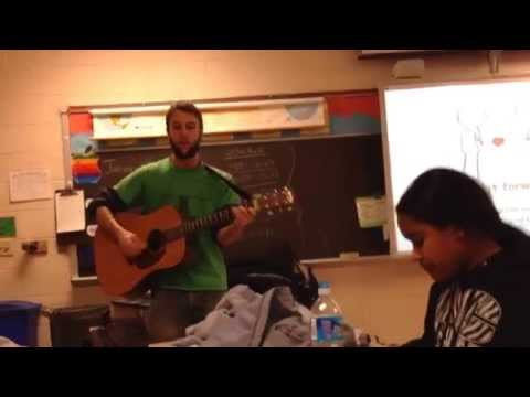 Davey Performing mentality By Soja For So What Else's Green Path Academy After School Program. video