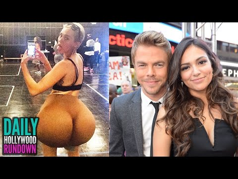 Miley Cyrus' New World Record - Dancing With The Stars Cast W  Bethany Mota (dhr) video