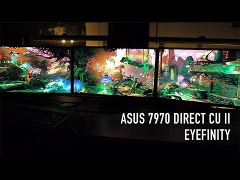 ASUS 7970 Direct CU II Eyefinity Benchmarks on 3 ASUS VN247H Monitors