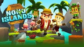 Chơi Nono Islands mạo hiểm đi tìm kho báu phiêu lưu rất hay cu lỳ chơi game lồng tiếng vui