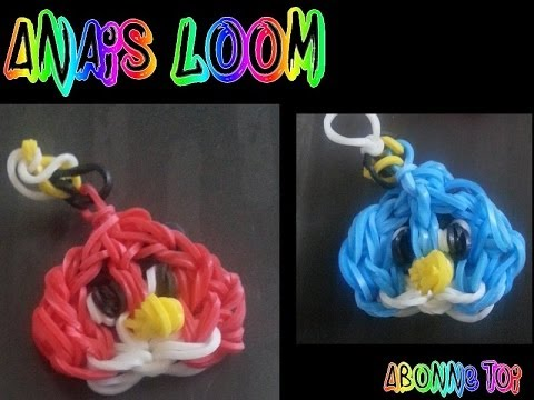 Rainbow Loom - Angry Bird- Français video