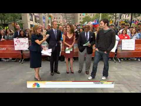 Bill Hader on Today Show -- SNL