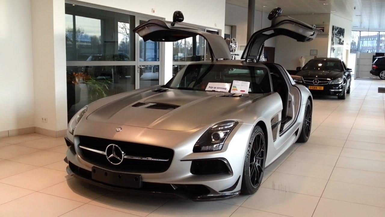 Black Series Mercedes Sls Amg >> Mercedes-Benz SLS AMG Black Series 2015 In depth review Interior Exterior - YouTube