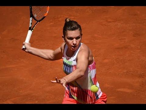 2016 Mutua Madrid Open Quarterfinal | Simona Halep vs Irina-Camelia Begu | WTA Highlights