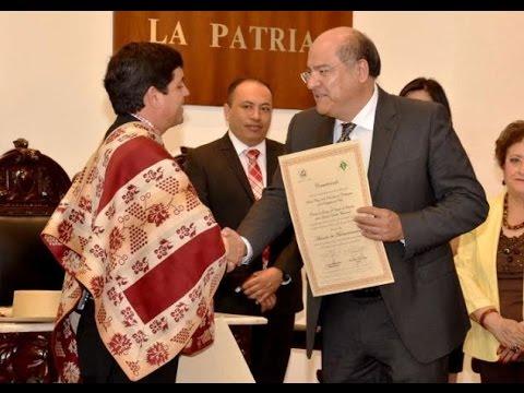 FIRMA ACUERDO DE HERMANAMIENTO OAXACA DE JUÁREZ MÉXICO Y SANTA CRUZ CHILE