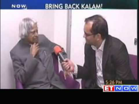 A.P.J. Abdul Kalam - Completely concentrating on what I am doing now