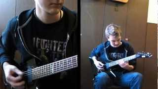 Foo Fighters - The Pretender (2 guitar cover)