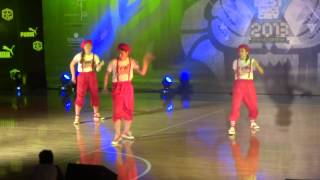 Hong Kong Best Dance Crew 2013-Lockers