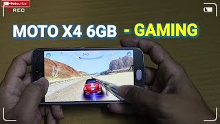 Moto X4 6GB RAM Smartphone - Gaming Review | Heavy Games | Medium Games