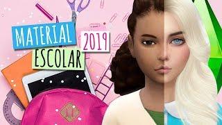 MATERIAL ESCOLAR 2019 - RICO vs POBRE - THE SIMS 4 Novelinha