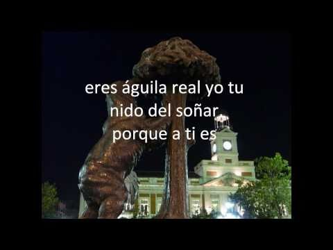 Aguila real letra Homenaje a Lolita Flores Hija de la Faraona