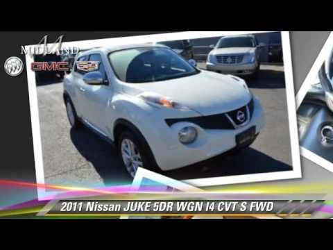 Used 2011 Nissan JUKE S - MIDLAND, ODESSA, LUBBOCK, ABILENE, HOBBS