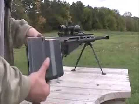 Barrett model 82a1/M107 semi automatic 50 caliber sniper rifle