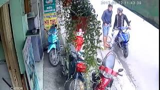 Điện lạnh sáng tạo bị trộm xe máy ngày 22/05/2017