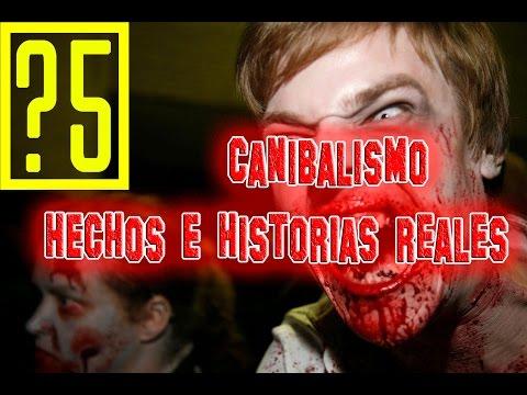 Caníbales: 5 hechos e historias reales  [Videos de terror]