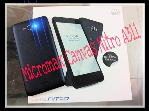 Micromax Canvas Nitro A311 unboxing & reviews