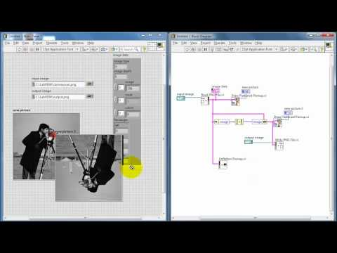NI LabVIEW: Basic image handling techniques