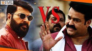 Mohanlal vs mammootty mixed dialogue scenes in  bigb and spadikam