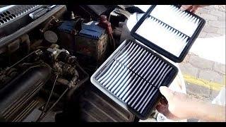 Cómo Cambiar el Filtro de Aire del Motor