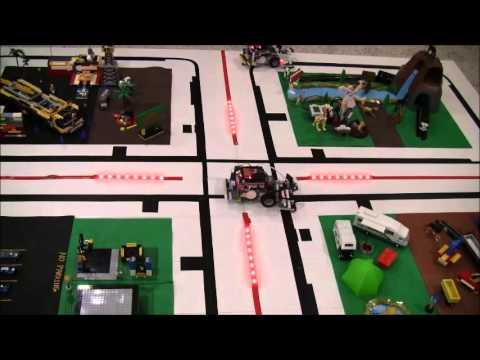 Autonomous Vehicles - Traffic Control - Wasps 2013 - Robofest