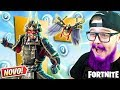 COMPREI A *NOVA SKIN* DO SHOGUN E APAVOREI OS MARGINAIS - FORTNITE
