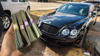 Attempting to Buy My First Bentley IN CASH!!  *PLOT TWIST*