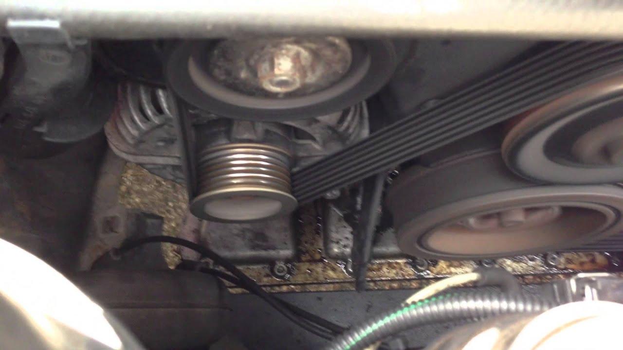 Omega 3.2 V6 Y32SE - Water Pump, Fan Belt Tensioner and X = noise - YouTube
