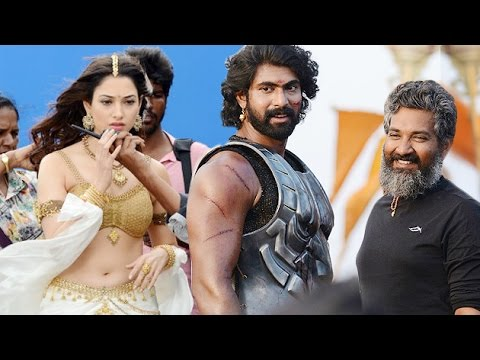 Baahubali: Candid Moment | UNSEEN Making Images | Lehren Telugu Photo Image Pic