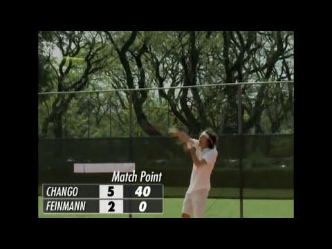CHANGO FEROZ - PARTIDO DE TENIS - EDU FEINMANN VS ANDY CHANGO - 23-10-14