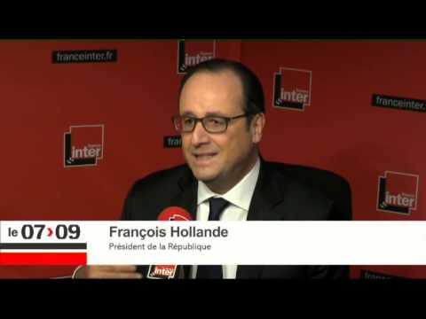 François Hollande :