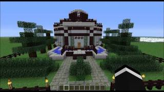 Minecraft Home Design ep.33 (Round House)