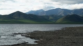 Trip down the Kolyma River on an inflatable boat