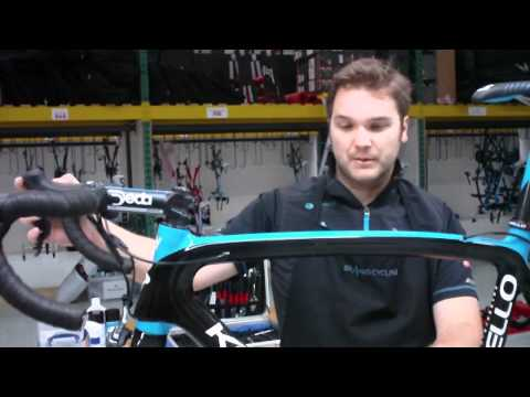 Team Sky mechanic talks about Bradley Wiggins's Pinarello bike