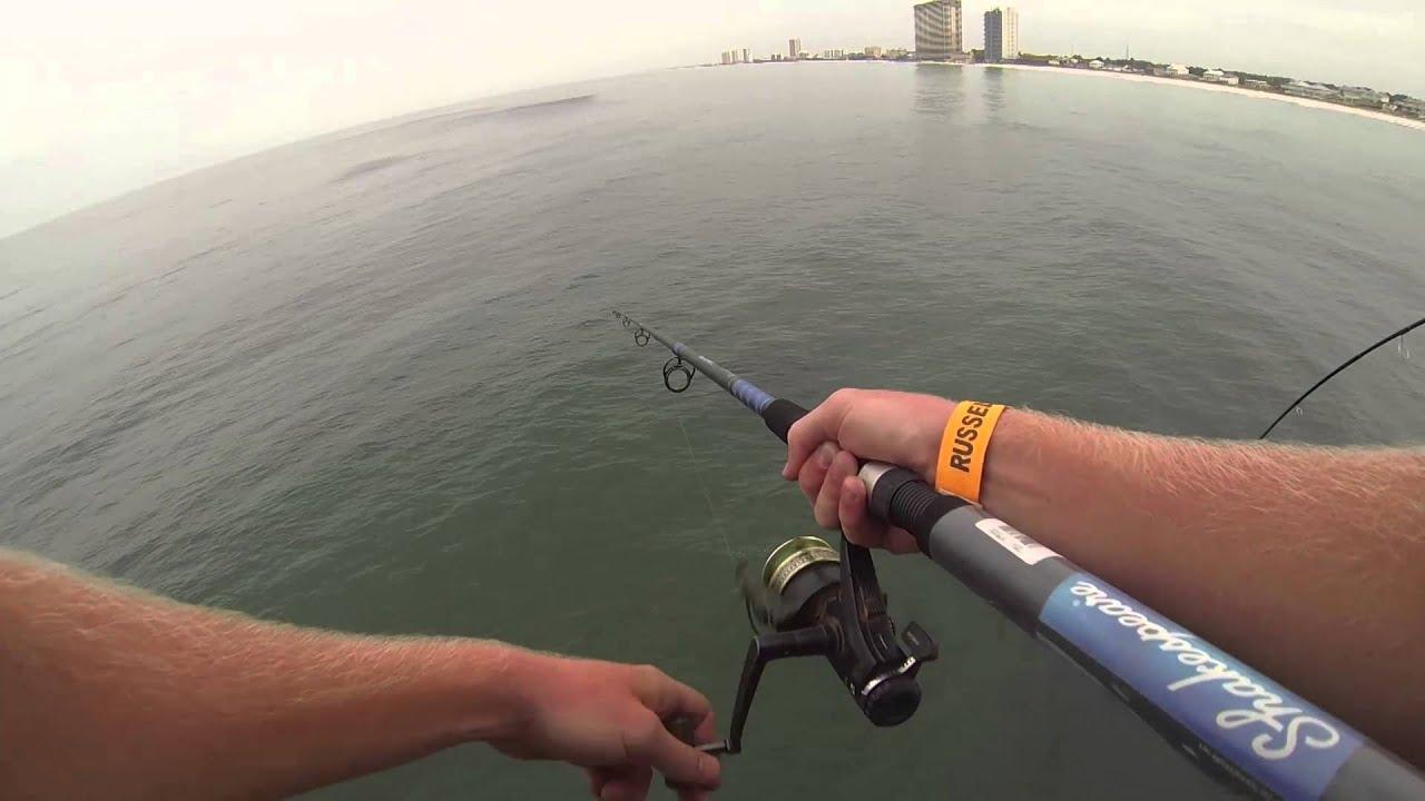 Panama city beach fishing mackerel and reds gopro hd for Surf fishing panama city beach