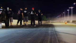 Racing On an Oily Track | Street Outlaws