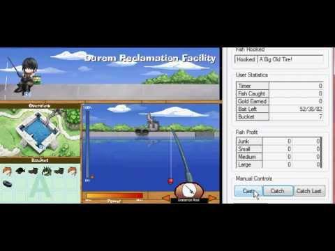 Legit gaia fishing bot working 2013 youtube for Buy fishing license near me