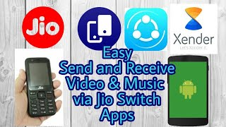 Jio Switch : Fast & Easy  share via Jio Switch (Jio Share) from jio phone to Android phone.