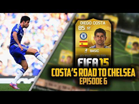 COSTA'S ROAD TO CHELSEA #6! BROKEN REFS! | FIFA 15 Ultimate Team