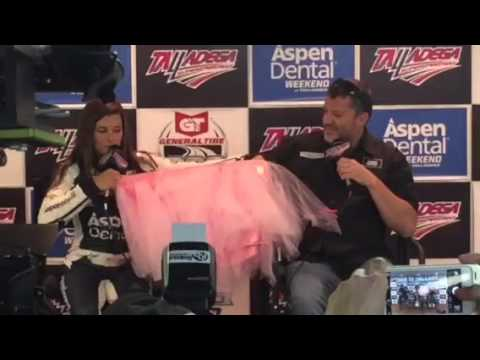 Tony Stewart gets invited to join Danica Patrick's tooth fairy squad