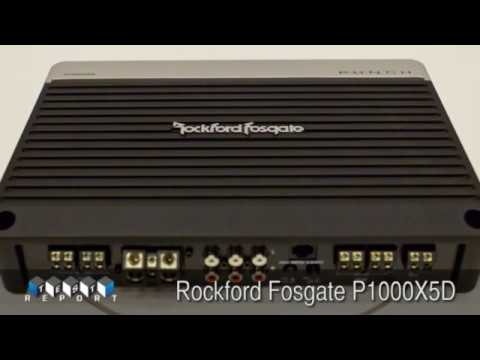 Rockford Fosgate P1000X5D Amplifier