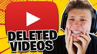 My DELETED VIDEOS *CRINGE*