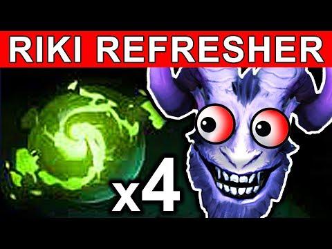REFRESHER RIKI - DOTA 2 PATCH 7.07 NEW META PRO GAMEPLAY