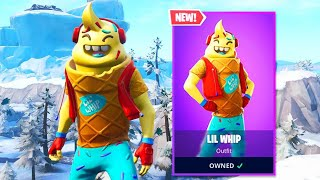 I Got the FREE ITEMS in Fortnite! - New ITEM SHOP SKINS LIVE! (Fortnite Battle Royale)