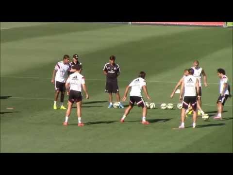 Gareth Bale Destroys Sami Khedira in the training