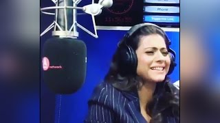 Kajol sings Baby Doll in her Squeaky voice; Watch Video | Filmibeat