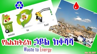 የኤሌክትሪክ ኃይል ከቆሻሻ - Waste to Energy - DW
