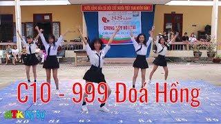 C10 - Flashmob 999 Đoá Hồng - Nhảy dân vũ HTK 2019 - HTK Ký Sự